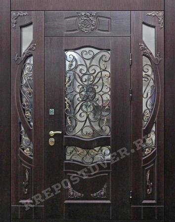 Входная дверь МДФ-242 — 1 фото