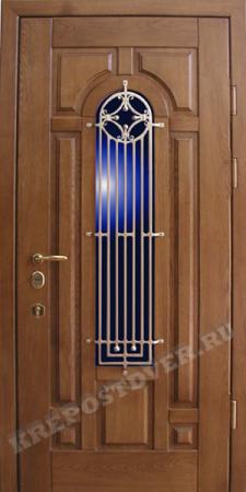 Входная Элитная дверь-8 — 1 фото