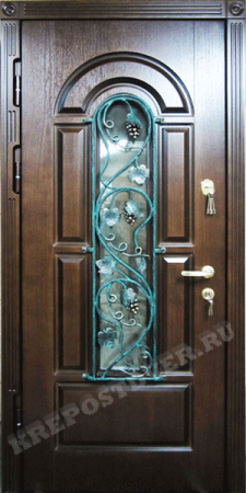Входная Элитная дверь-112-Т — 1 фото
