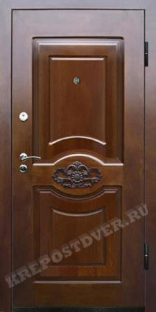 Входная Элитная дверь-114 — 1 фото