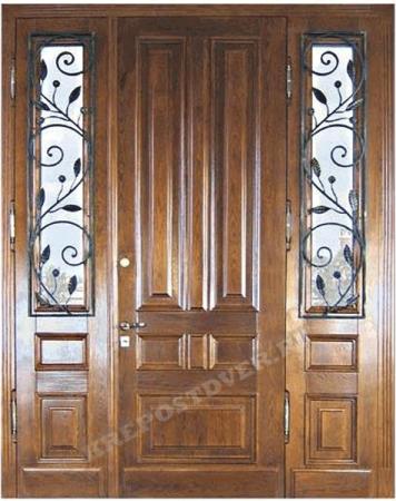 Входная Элитная дверь-135-Т — 1 фото