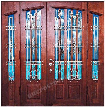 Входная Элитная дверь-154 — 1 фото