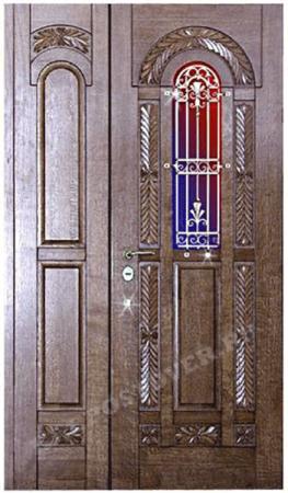 Входная Элитная дверь-160 — 1 фото
