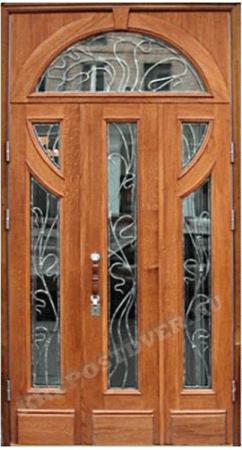 Входная Элитная дверь-166 — 1 фото