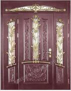 Входные двери элитные клееные