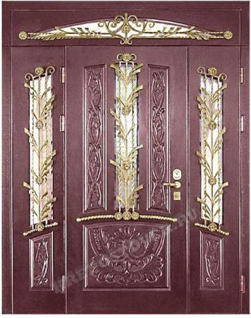 Входная Элитная дверь-167 — 1 фото
