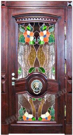 Входная Элитная дверь-177 — 1 фото