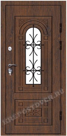 Входная Элитная дверь-191-Т — 1 фото