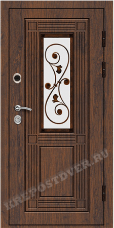 Входная Элитная дверь-196 — 1 фото