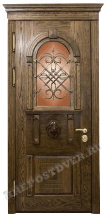 Входная Элитная дверь-198 — 1 фото