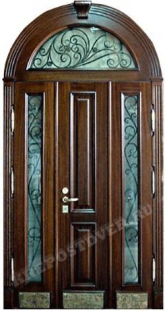 Входная Элитная дверь-206 — 1 фото