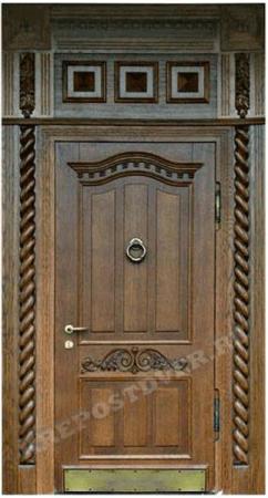 Входная Элитная дверь-207 — 1 фото