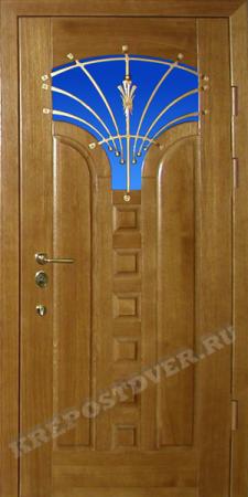 Входная Элитная дверь-22 — 1 фото