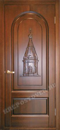 Входная Элитная дверь-35 — 1 фото