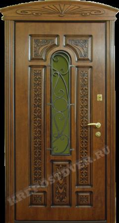 Входная Элитная дверь-41-Т — 1 фото