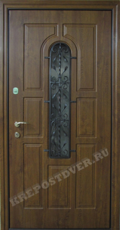 Входная Элитная дверь-44 — 1 фото