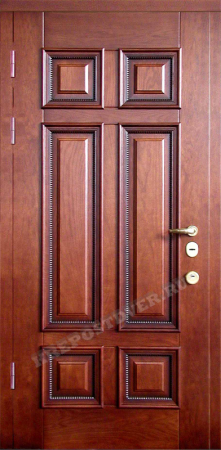 Входная Элитная дверь-51 — 1 фото