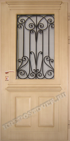 Входная Элитная дверь-4 — 1 фото