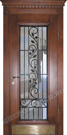 Входная Элитная дверь-72 — 1 фото