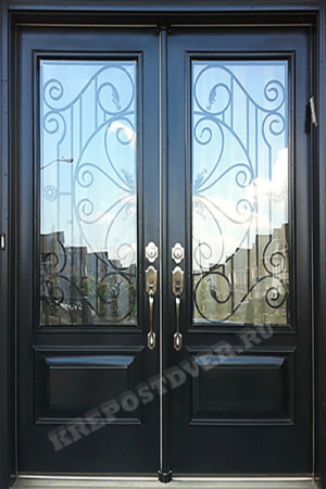 Входная Элитная дверь-83 — 1 фото