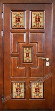Входная Элитная дверь-86 — 1 фото