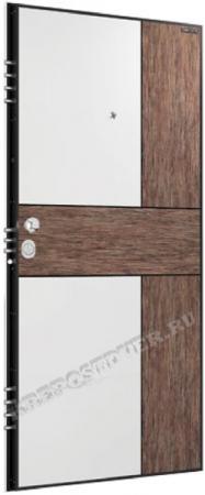 Входная дверь Зеркало-7 — 1 фото