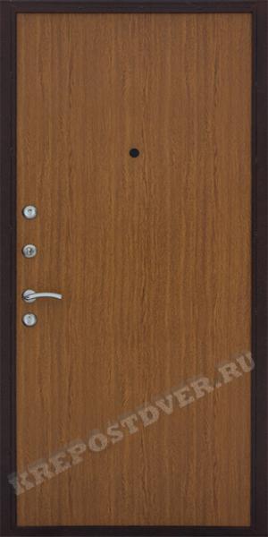 стальная дверь с отделкой ламинат