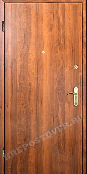 ламинат на металлических дверях