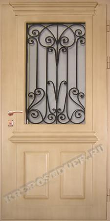 Входная дверь МДФ-74 — 1 фото