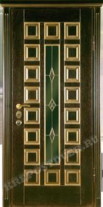 Входная дверь МДФ-76 — 1 фото