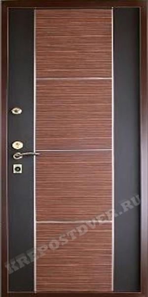 металлическая дверь мдф 100