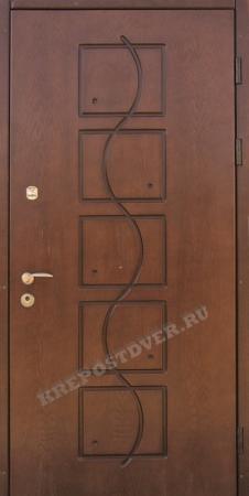 Входная дверь МДФ-87 — 1 фото