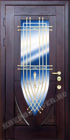 Входная дверь МДФ-107 — 1 фото