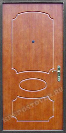 Входная дверь МДФ-117 — 1 фото