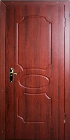 Входная дверь Эконом-МДФ-129 — 1 фото