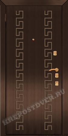 Входная дверь Эконом-МДФ-147 — 1 фото