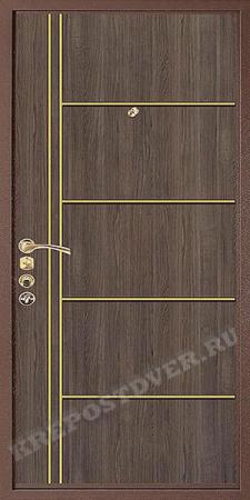 Входная дверь Эконом-МДФ-187 — 1 фото