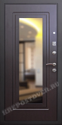 Входная дверь с зеркалом и шумоизоляцией