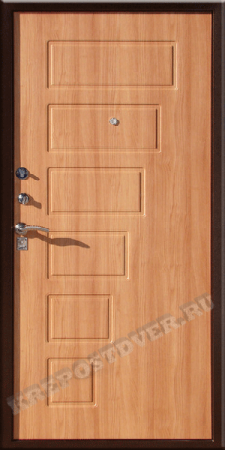 Входная дверь Эконом-МДФ-201 — 1 фото