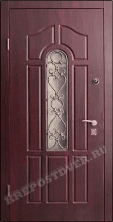 Входная дверь МДФ-217 — 1 фото