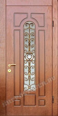 Входная дверь МДФ-66 — 1 фото