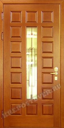 Входная дверь МДФ-68 — 1 фото