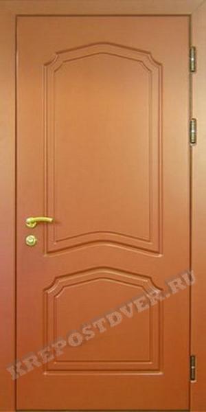 стальные двери с отделкой мдф