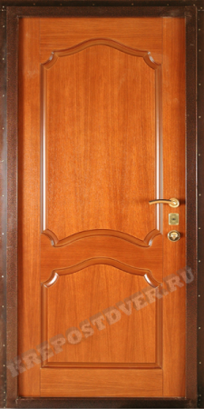 Входная дверь МДФ-39 — 1 фото