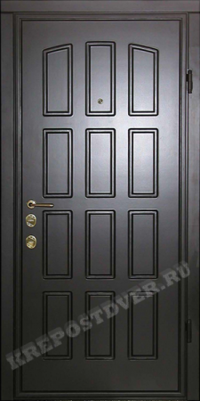 Входная дверь МДФ-44 — 1 фото