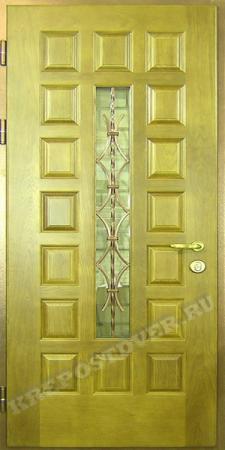 Входная дверь МДФ-71 — 1 фото