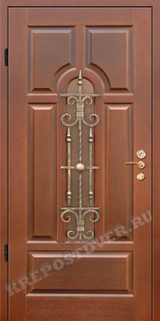 Входная дверь МДФ-72 — 1 фото