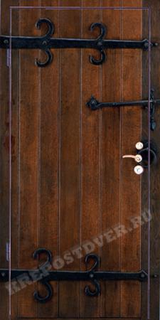 Входная дверь Фотопанель-8 — 1 фото