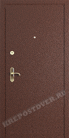 Входная дверь Эконом-Порошок-42 — 1 фото