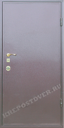 Входная дверь Эконом-Порошок-43 — 1 фото